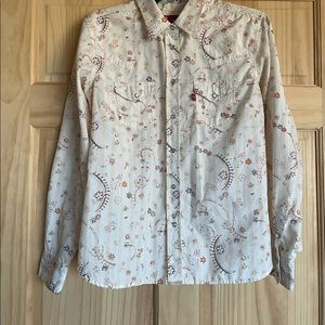 Levi's Long Sleeve button down with Pearl Snaps
